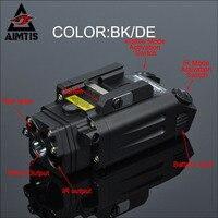 AIMTIS DBAL-PL Тактический ИК лазерный свет комбо стробоскоп оружие Свет светодиодный пистолет фонарик TAC с красным лазером NV осветитель