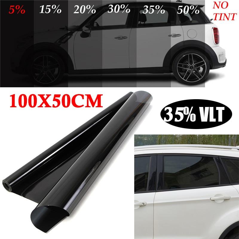 12 x 96 inch Car Frosted Light Black Taillight Headlight Film Vlt 15/%G