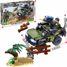 hot LegoINGlys military WW2 vehicles Border checkpoint Assault war MOC Building Blocks model mini army figures bricks toys gift