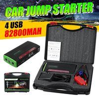 Multi Function Portable 12V Car Jump Starter 600APeak 82800mAh Battery Booster Power Bank For Car Charger 4 USB Port