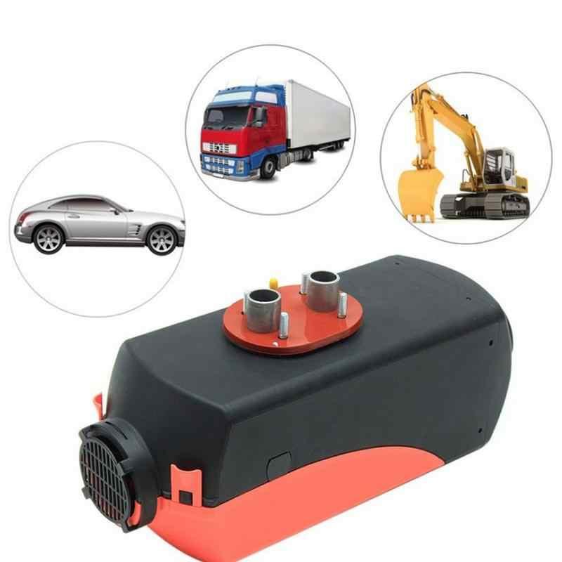 5KW 12V RC LCD 10L Tank Air diesel Fuel Heater w// Silencer For Truck Bus Car