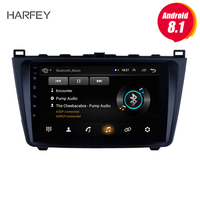 Harfey 2DIN 9 Android 8.1 Car Radio For Mazda 6 Rui wing 2008 2014 Multimedia Player GPS Navigation Head Unit bluetooth stereo
