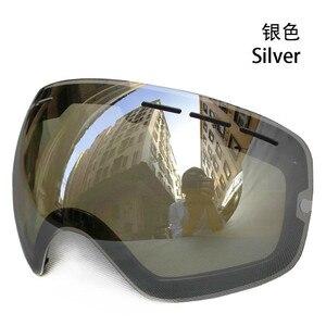Lens for ski goggles COPOZZ GOG-201 anti-fog UV400 large spherical ski glasses snow goggles eyewear lenses