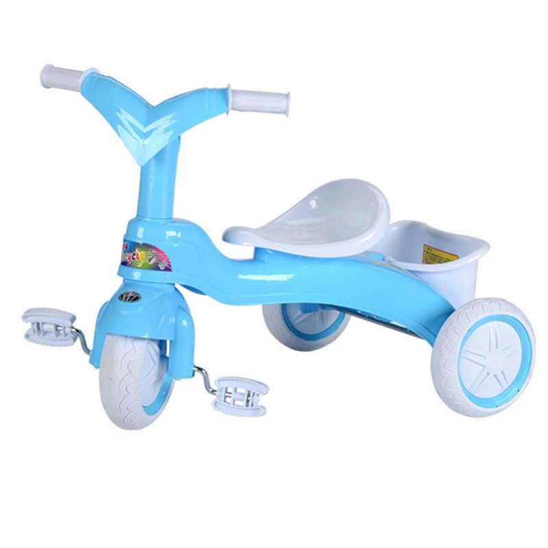 Bayi Bayi Roda Tiga Sepeda Keseimbangan Walker Anak-anak Naik Toy Hadiah untuk 3-5 Tahun Anak untuk Belajar berjalan Kaki Skuter
