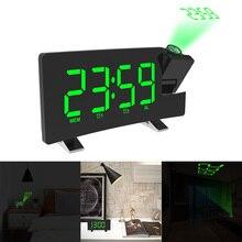 วิทยุดิจิตอลนาฬิกาปลุกSnooze TimerจอแสดงผลLED USB 180องศาตารางนาฬิกาวิทยุFM