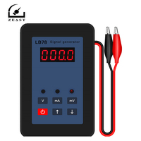 Portable 4 20mA Signal Generator 0 20mA 0 110mV Calibrator LB78 High Precision mA mV Signal Current