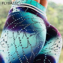 Women Sports Sparkly Print Yoga Pants Compression Push Up Tights OMBRE Seamless Pants Stretchy High Waist Run Fitness Leggings цены