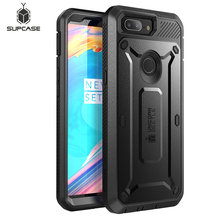 SUPCASE For One Plus 5T Case UB Pro Full Body Rugged Holster Protective Case with Built in Screen Protector For OnePlus 5T Cover