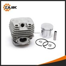 Цилиндр цепной пилы для 52cc 5200, комплект цилиндров цепной пилы и комплект поршней диаметром 45 мм