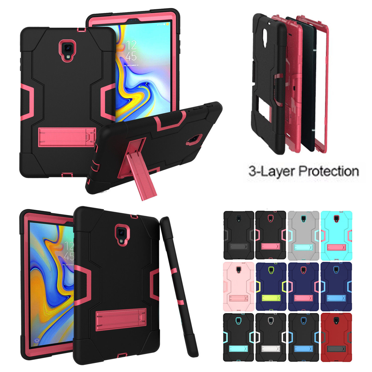 For Samsung Galaxy Tab A 10.5 T590 T595 T597 Case Kids Shockproof Hybrid Heavy Hard Protective Cover Tab A T590 T597 Tablet caseFor Samsung Galaxy Tab A 10.5 T590 T595 T597 Case Kids Shockproof Hybrid Heavy Hard Protective Cover Tab A T590 T597 Tablet case
