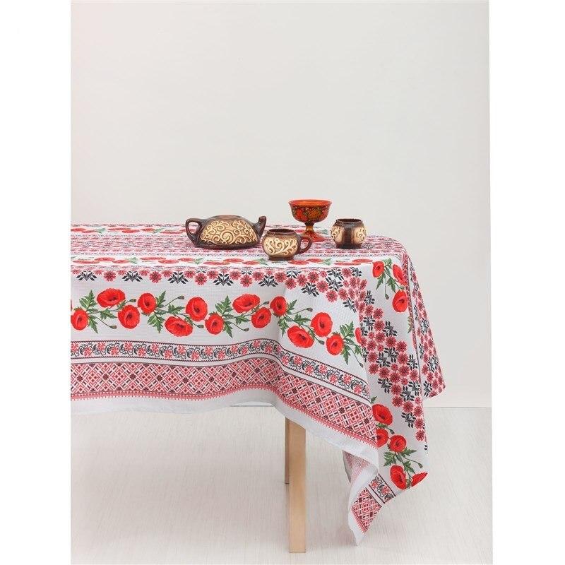 цена на Tablecloth Доляна Maca 150*250 cm, 100% cotton, ваф. Canvas 2411493