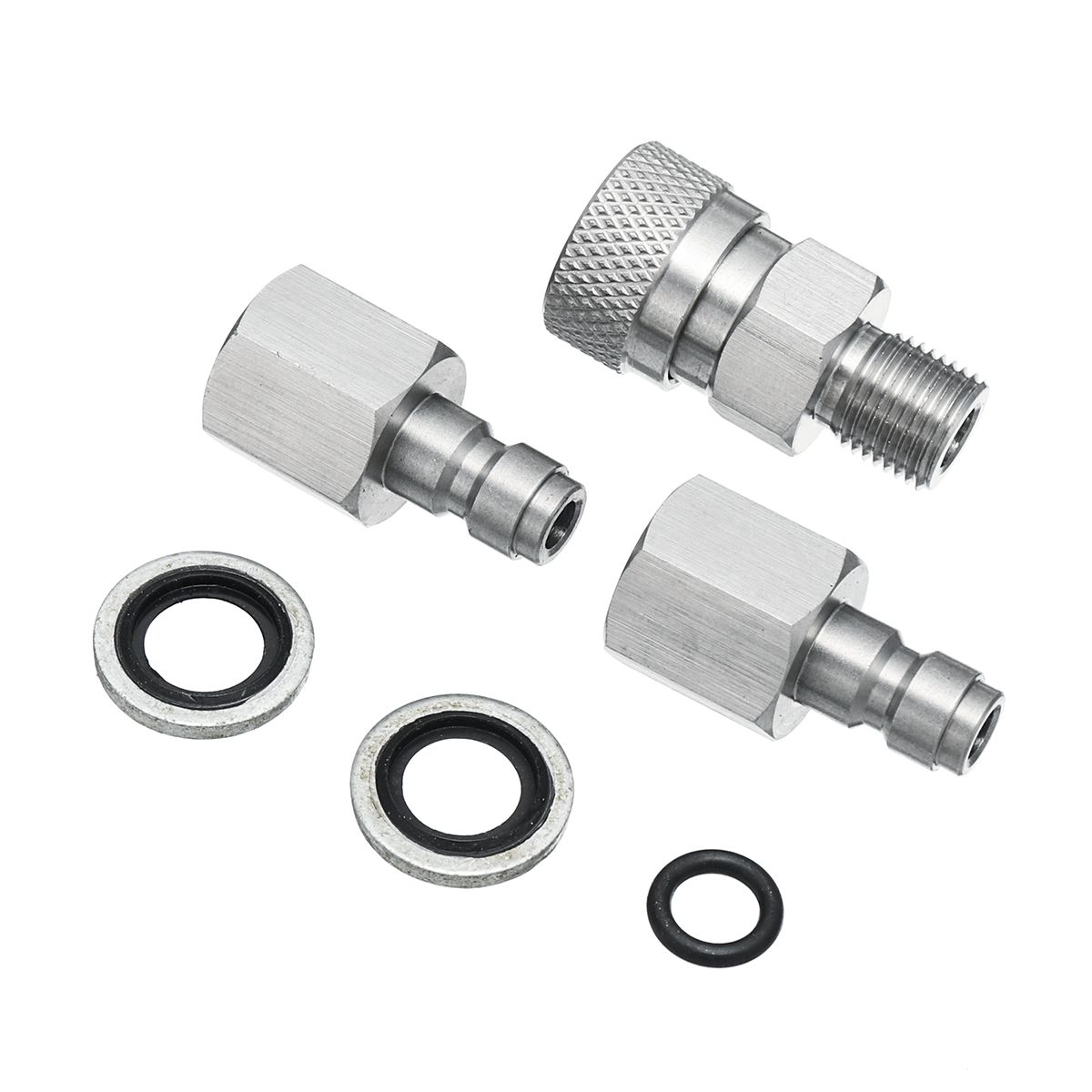 Air Gu n Filling Quick Connect Adapter Stainless PCP 18 BSPP with Plugs Fittings Toy Gu n Connector Coupler