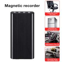8GB/16G Mini Magnetic Voice Recorder USB Professional 246 Hours Dictaphone Digital Audio Voice Recorder With WAV,MP3 Player цена и фото