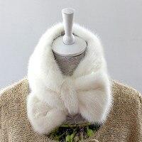 2016 genuine mink scarves, women's scarves leather fur mink hot muffler scarves high quality muffler scarves