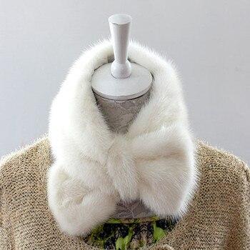 2016 genuine mink scarves, women's scarves leather fur mink hot muffler scarves high quality muffler scarves фото