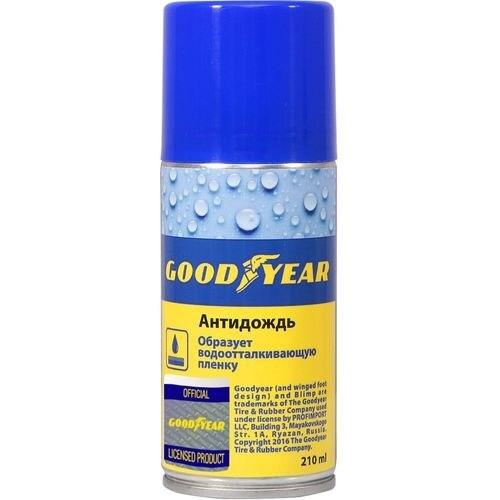 все цены на Antirain GOODYEAR, spray 210 ml онлайн