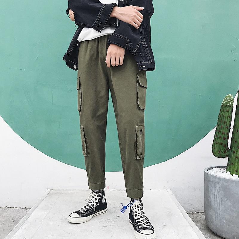 ec5bac88e6fe3 2019-Printemps-Mode-Pantalon-Cargo-Hommes-Coton-Loisirs-Solide-Couleur-Joggers-Streetwear-Safari-Style-Fermeture-Glissi.jpg