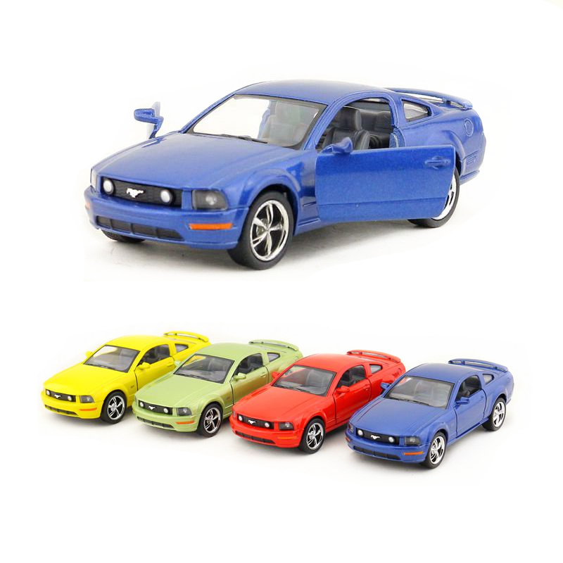 Free Shipping/KiNSMART Toy/Diecast Model/1:38 Scale/<font><b>2006</b></font> Ford <font><b>Mustang</b></font> <font><b>GT</b></font>/Pull Back Car/Educational Collection/Gift For Children image