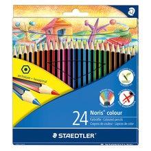 Карандаши цветные Noris Colour, 24 цв