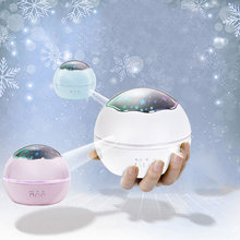 Romantic Starry Sky Projector Dreamlike Rotating LED Baby Sleeping Nightlight Projection Lamp Kids(China)