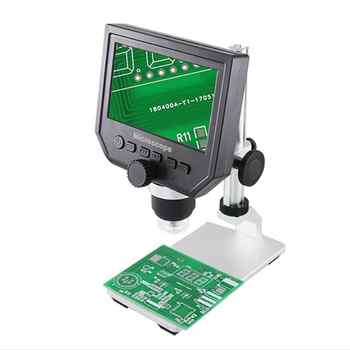 BEST 600X Digital Microscope Electronic Video Microscope LCD Soldering Phone Repair Endoscope Magnifier+Metal Stand - SALE ITEM Cellphones & Telecommunications