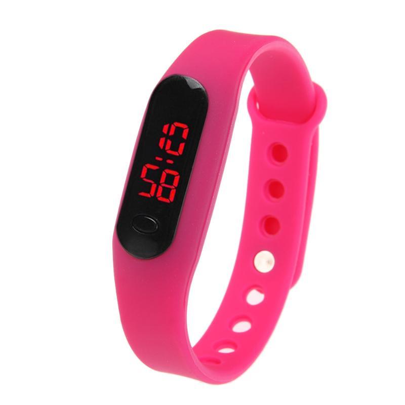 Fashion Sport Watch LED Display Electronic Digital Watch Ladies Unisex Bracelet Watch Men clock Montre Homme Relogio Feminino 6