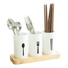 Cubiertos escurridor estantes de almacenamiento de organizador de cocina  ama de llaves palillos tenedores cucharas consola de so. 5f5310bb1a4b