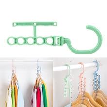 Hanger Wardrobe Dry-Rack Laundry Organization Home-Storage Multilayer Household Anti-Slip