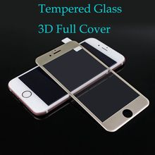 3D Curved Matte Tempered Glass on for iPhone 6 6s Premium Real 9H Carbon Fiber Film Full Screen protective glass 7