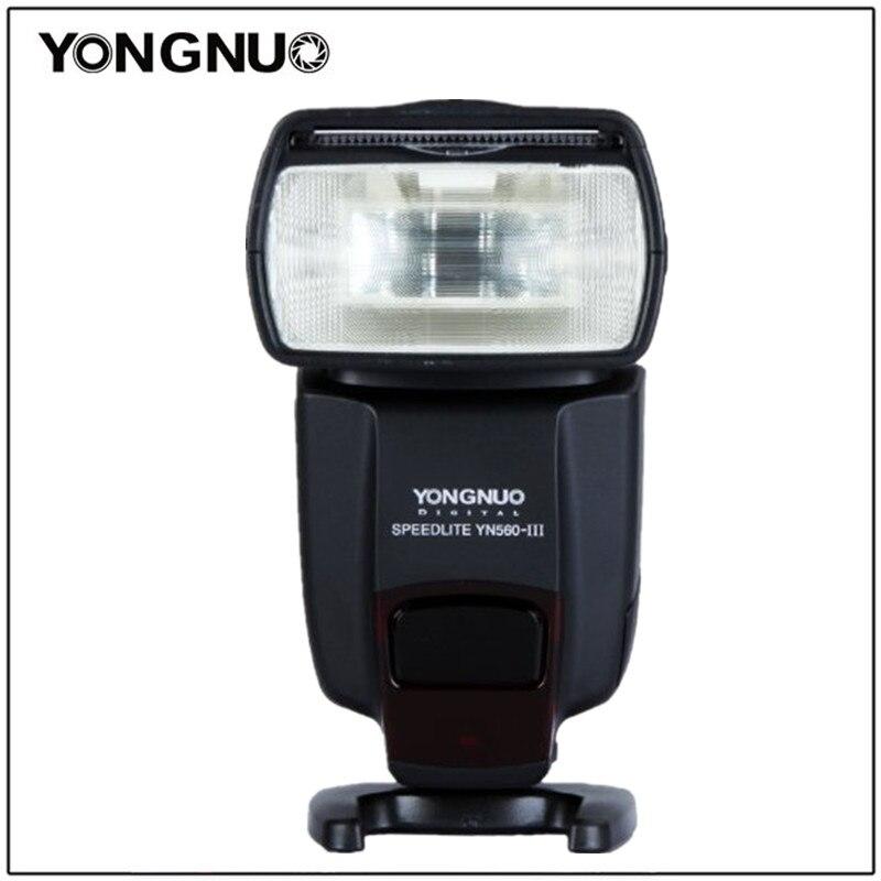 Yongnuo YN560III YN-560 III Professional Lanterna Yongnuo Speedlight Flash para Canon Nikon Pentax Olympus Câmera D60 D610 D500