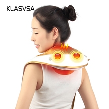 KLASVSA Heating Knock Back Massager Infrared Therapy Cervica