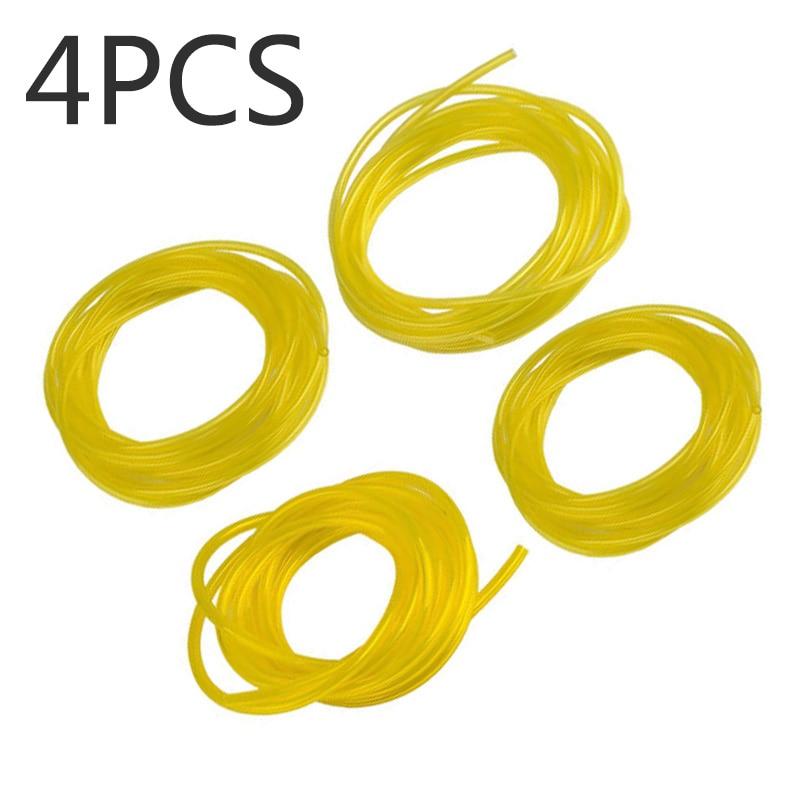 4pcs Fuel Gas Line Pipe Hose Tube For STIHL Husqvarna Chainsaws Trimmer Engine