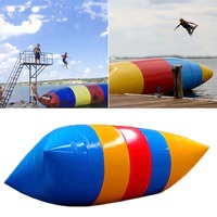 New Children Water Jump Pillow Toy 5*2m Inflatable Water Jumping Package Inflatable Water Park Jumping Bounce Inflatabl WJ1646