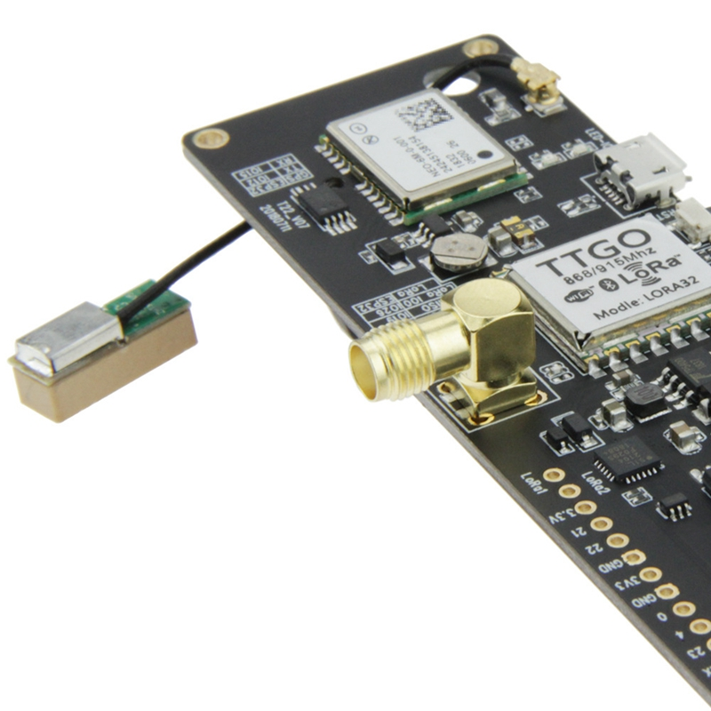 Image 5 - Ttgo T Beam Esp32 915Mhz Wifi Wireless Bluetooth Module Esp32 Gps Neo 6M Sma Lora 32 18650 Battery Holder With Softrf IP5306-in Circuits from Consumer Electronics