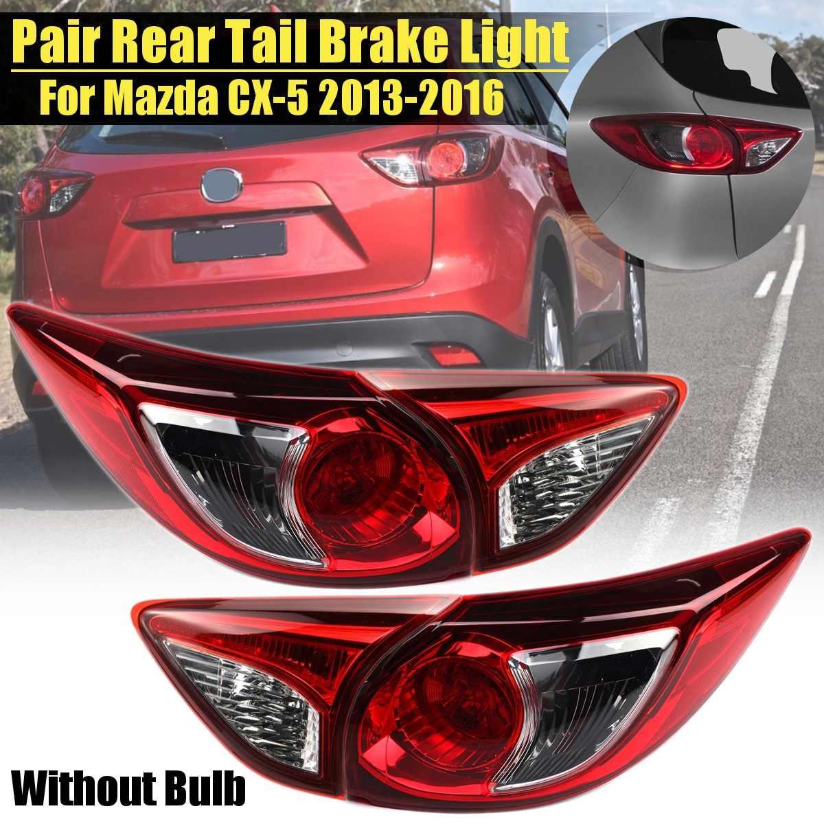 Car TailLight Lamp Housing For Mazda Cx5 Cx 5 2013 2016 Car Styling Rear Left Right Tail Light Lamp Reversing Brake Fog Light