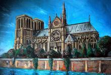 Notre Dame De Paris 5D DIY Diamond Painting Embroidery Art Drawing Needlework Gift Full Drill Mosaic Cross Stitch Home Decor diy diamond painting notre dame de paris inside dimaond embroidery notre dame de paris diamond mosaic notre dame de