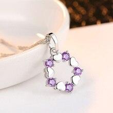 hot deal buy zouxiansheng necklace  necklaces pendants vintage decoration metal fashion women pendants purple/silver