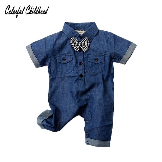 11f45adb0968 Aliexpress.com   Buy Summer boys romper short sleeve infant kids ...