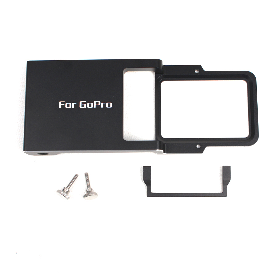 цена на Compatible Switch Mount Plate adapter for Gopro 5 4 3 3+ xiaoyi fit for dji Osmo Mobile Zhiyun Z1 Smooth C R 2 II gimbal F19527