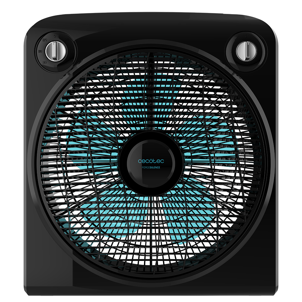 Cecotec ForceSilence Raised Floor Fan 6000 PowerBox Black