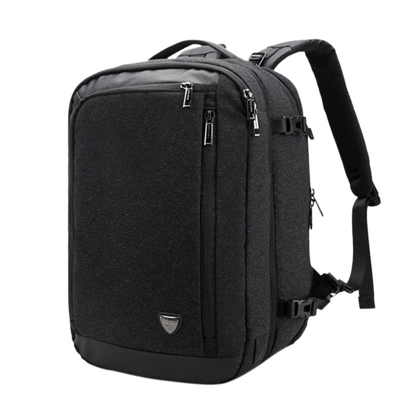 アイコン北極ハンター多機能 17 インチノートパソコンのバックパック十代の男性トラベルバックパックバッグ大容量カジュアルヴィンテージ Ne  グループ上の スーツケース & バッグ からの バックパック の中 1