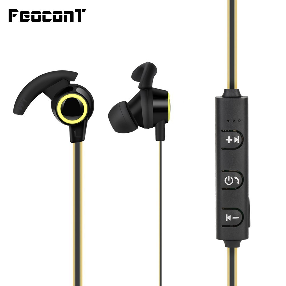 Bluetooth Earphone In Ear Wireless Head phones With 5 Hours Battery Life Sport Wireless Earphone Bluetooth 4.1 For Mobile Phone-in Bluetooth Earphones & Headphones from Consumer Electronics