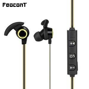 Image 1 - 블루투스 이어폰 in ear 무선 헤드 폰 5 시간 배터리 수명 스포츠 무선 이어폰 블루투스 4.1 휴대 전화