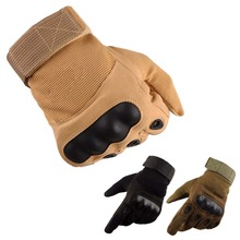 Man Handsome Warm Half Finger Gloves Tactical Non-slip Outdoor Riding Sports Army Fan Fashion