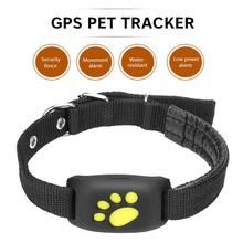 Cute Lightweight GPS Dog Cat Pets Real time Tracker GSM/GPRS