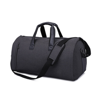 Business Travel Cabin Bag 2 in 1 Duffle Bags Big Large Capacity Suit Garment Bagage Bag Shoes Pocket Luggage Sac De Voyage