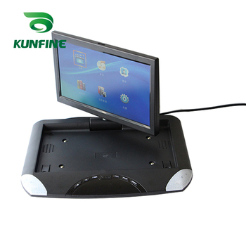 10.1'' Car Roof Monitor LCD Flip Down Screen Overhead Multimedia Video Ceiling Roof mount Display Build in IR/FM Transmitter USB