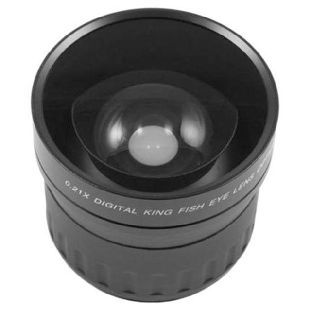 58mm 0.21X Fisheye Wide Angle Macro Lens For Canon Nikon All Dslr Camera