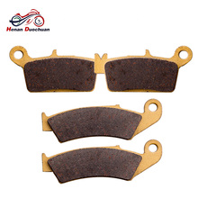 Motorcycle Front Rear Brake Pads Disk For AJP PR5 FOR GAS-GAS MX 125/200/250/300 Pampera 450 FOR GOES FOR HONDA CR 125/250/500