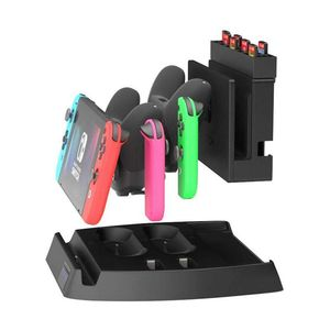 Image 2 - 充電表示任天堂スイッチ充電ドックとゲームホルダースイッチコンソール、喜び Con コントローラ、スイッチプロ C